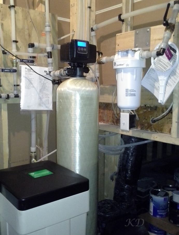 water softener and filtration system
